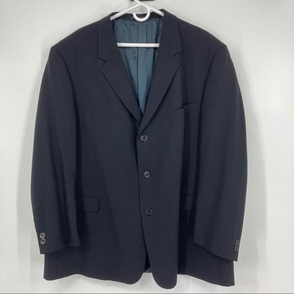 Kenneth Cole Other - NWOT Men's Kenneth Cole Black Sports Coat. Size 50